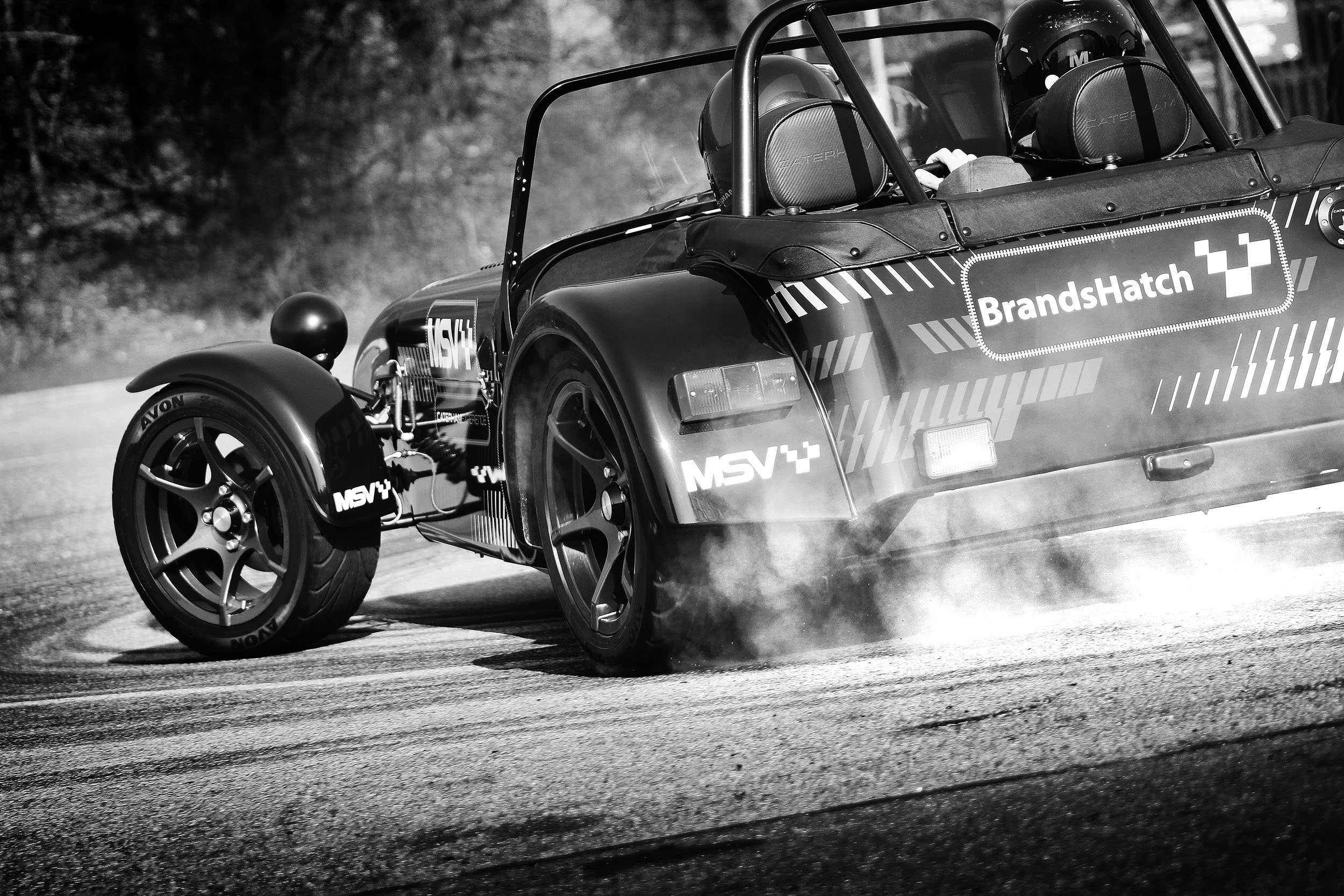 Join Caterham and Avon Tyres at the British Motor Show