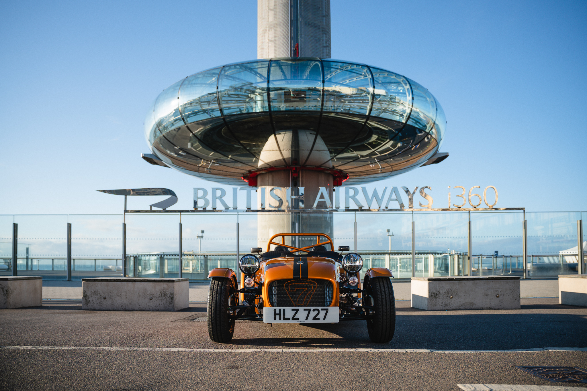 JOIN CATERHAM, AVON TYRES AND HALFORDS ADVANCED AT THE BRITISH AIRWAYS i360